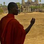 Monk - Angkor, Cambodia