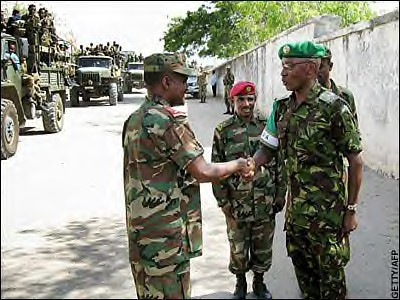 African Union troops have become targets of the Somali resistance. The Bush administration has further destabilized the nation by engineering an occupation by the regime in Ethiopia. by Pan-African News Wire File Photos