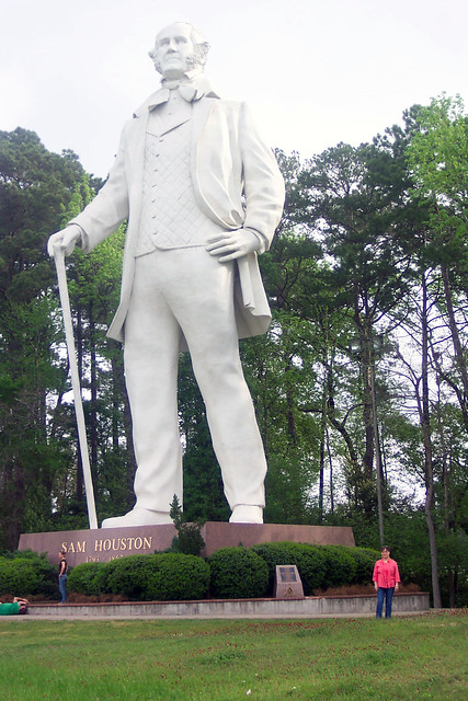 Sam Houston Statue On I 45 Flickr Photo Sharing