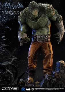 Prime 1 Studio 蝙蝠俠:阿卡漢起源【殺手鱷】Killer Croc 1/3 比例全身雕像作品 MMDC-19EX