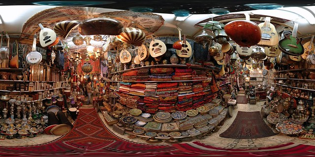 King David Street Shop - Jerusalem, Old City - 360°