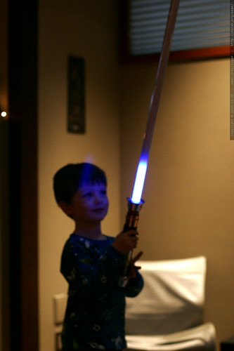 light saber ignites    MG 7460