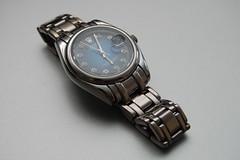 watch, metal,