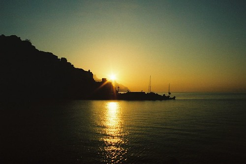 italy sunrise amalfi