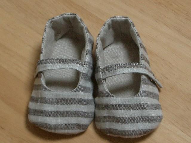 Handmade baby shoes