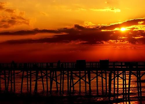 morning sea sky sun seascape nature water clouds sunrise skyscape landscape dawn pier interestingness topf50 glow florida 100v10f rays staugustine cloudscape f50 flaglerbeach 50v5f top20favview interestingness140 i500 flickrplatinum isawyoufirst explore01jan07