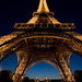 Eiffel Tower, Paris France by eos_liquidretro