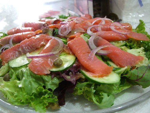 Christina and James' Smoked Salmon Salad