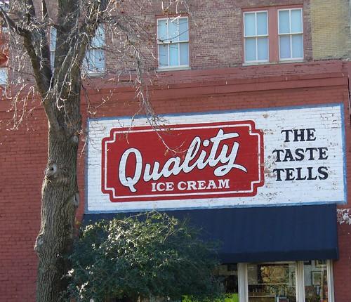 Quality Ice Cream Mural