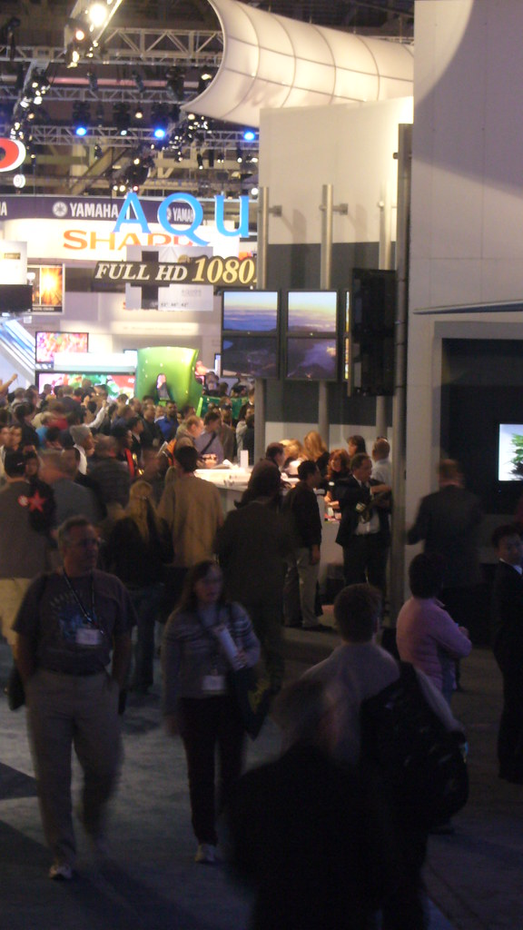 CES 2007 (via Flickr Tedrake)