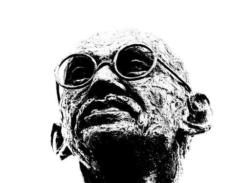 Roel Wijnants - Gandhi Statue The Hague