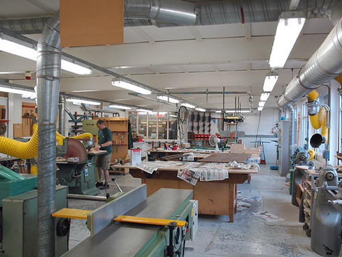 Bower Ashton - Woodwork Studio