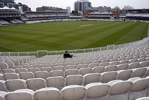 Alone at lords