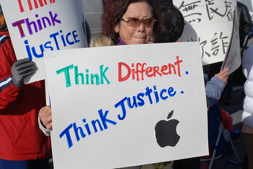 Think Different, Think Justice