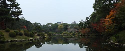 Shukkei-en panorama