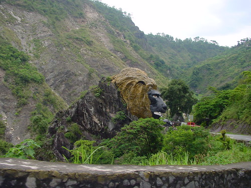 road mountain view head philippines lion lions baguio roar zigzag lionhead baguiocity kennon