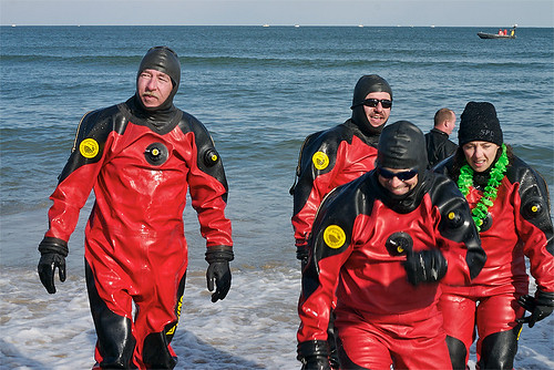 Virginia Beach Polar Plunge - Plunge!