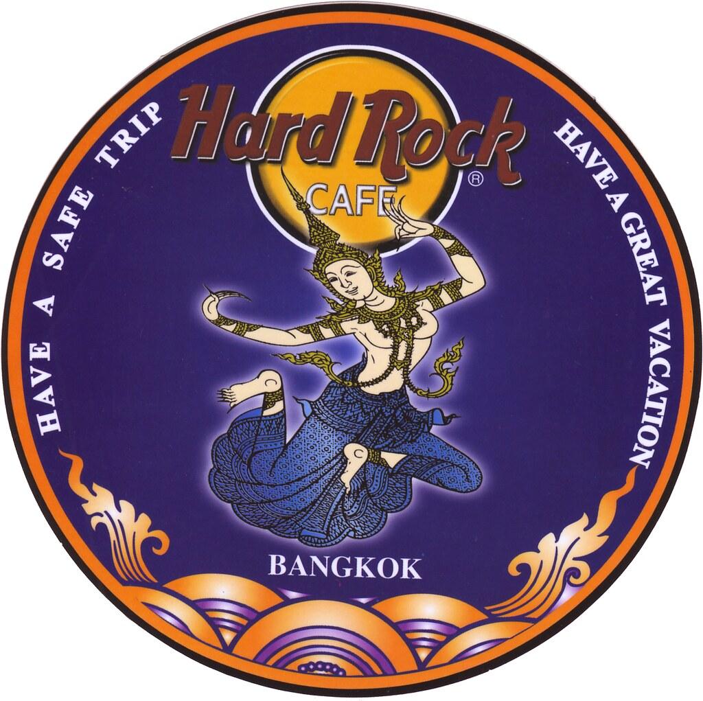 Sticker Hard Rock Cafe