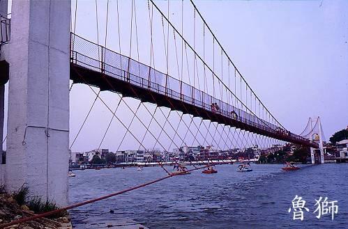 K027龍潭觀光吊橋