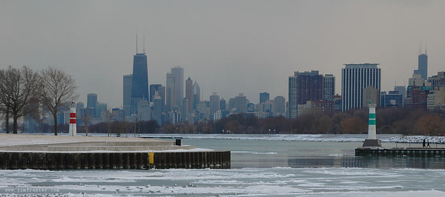 Winter at Montrose Harbor II