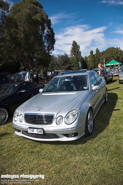 mercedes benz e55 amg mercedes benz e55 amg at the 2007
