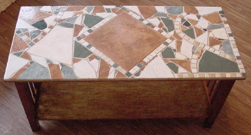 "Mosaic ""Comfy"" Coffee Table $345.00"