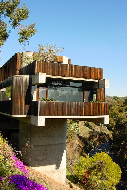 Pacific Palisades Concrete Pier House Flickr Photo