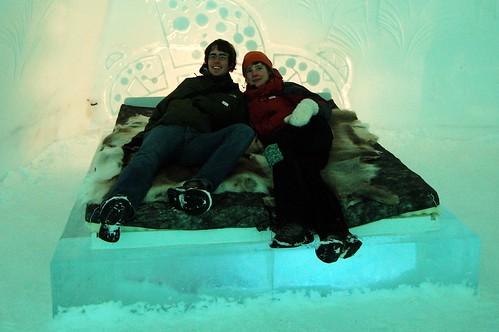 Ice Hotel Suit @ Jukkasjärvi