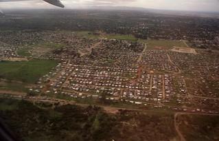 Shanty town near Port Elizabeth