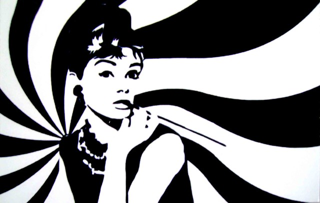 Audrey hepburn sticker flickr photo sharing - Cuadros audrey hepburn ...