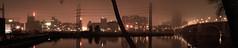 Foggy Minneapolis Riverfront