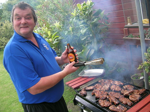 Dad + Barbeque = AWESOME