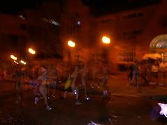 Naked quad run