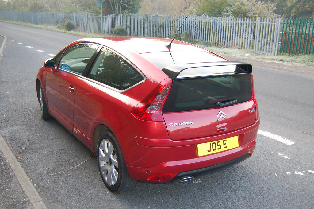 2005 citroen c4 coupe vts a photo on flickriver. Black Bedroom Furniture Sets. Home Design Ideas