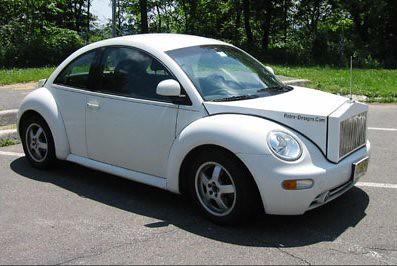 Beetle Rolls Royce Front End