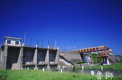 I364排水閘門河濱-防汛陸橋