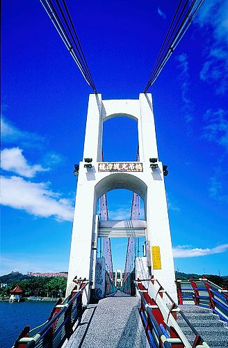 K386龍潭觀光吊橋