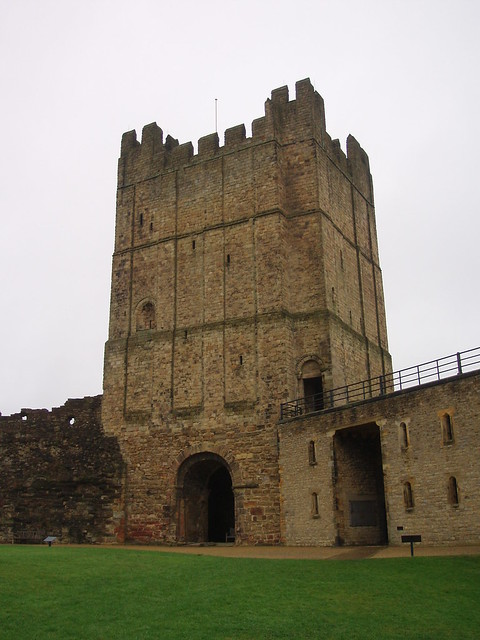Richmond Castle Keep, North Yorkshire, UK