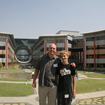Dax and Tom at Infosys