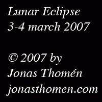 Lunar Eclipse - Gif animation by Jonas Thomén