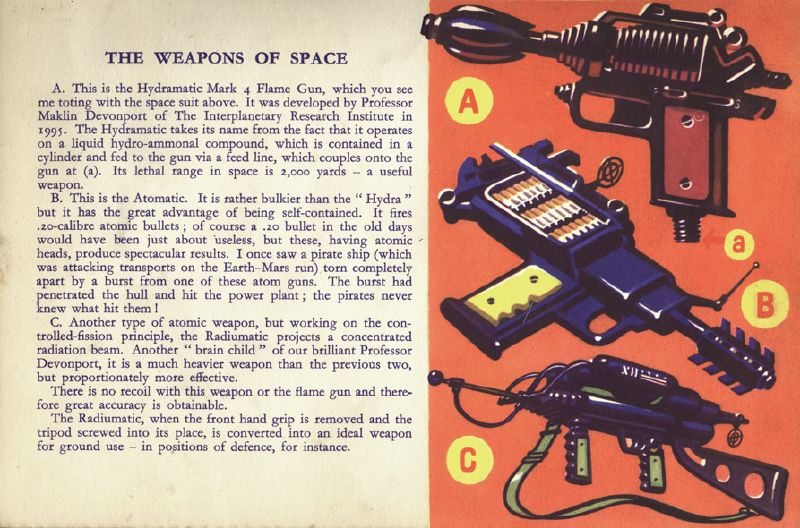 The Weapons Of Space