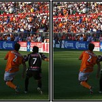 Pachuca Tuzos at Houston Dynamo, CONCACAF Champions Cup Semifinal, Robertson Stadium, Houston, Texas 2007.03.15