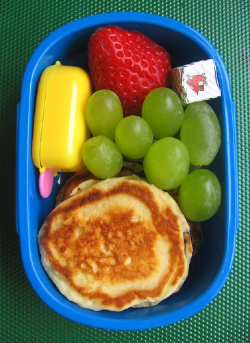Pancake lunch for toddler