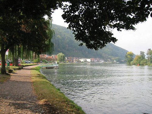 Miltenberg river Main Bavaria Germany