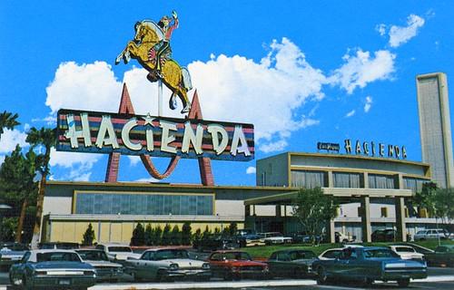 Hacienda Hotel Casino, 1967  - Las Vegas, NV