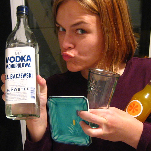 43/365: MMMM, Vodka.