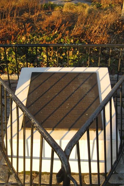 NYC - Battery Park: Tribue to Emma Lazarus