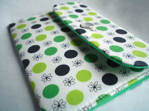 Polka Dots Wallet - Card Case