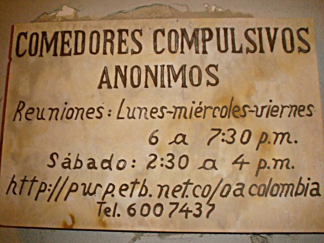 Photo - Comedores compulsivos anonimos ...