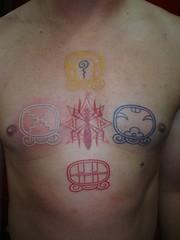 symbol tattoo (Dejavu Tattoo Studio Chiangmai Thailand)